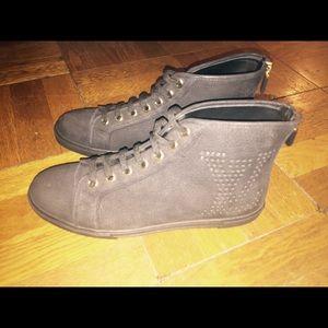 New Authentic Louis Vuitton punchy sneakers sz41